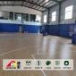篮球场木纹PVC塑胶地板-运动地胶厂家